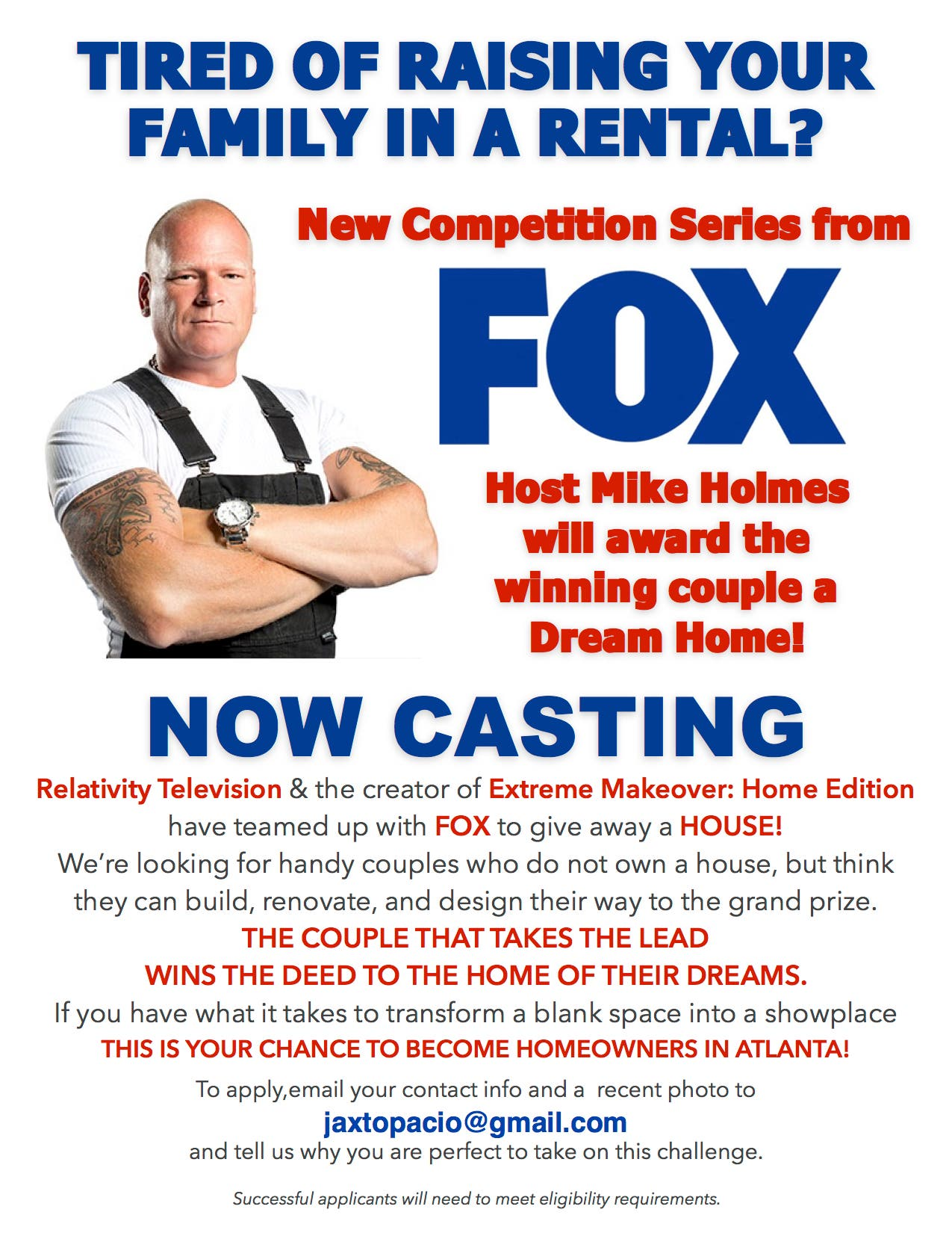 Win Dream Home Fox Show Home Free Casting Now Old Town Alexandria Va Patch