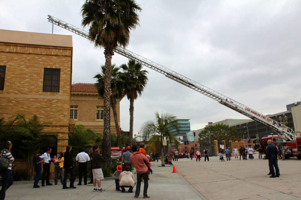 Everyday Heroes at Fire Station 27 and a Glimpse at LAFD History