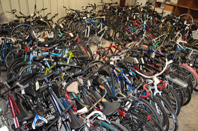 Suspected Thief Registered Stolen Bike at Police Station to Sell on