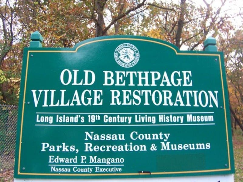 Image result for Old Bethpage Village Restoration logo