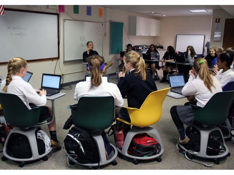 New Mobile Chairs Provide Flexible, Dynamic Learning For Students At Oak  Knoll