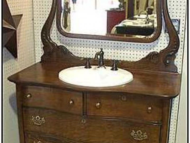 ... Challenges of Using an Antique Bathroom Vanity-0 ... - Challenges Of Using An Antique Bathroom Vanity New Baltimore, MI Patch