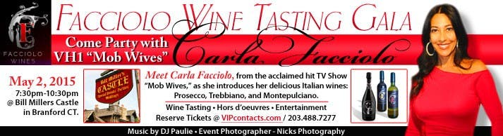 Wine Tasting Event @ Bill Millers Castle - Sat May 2, 2015