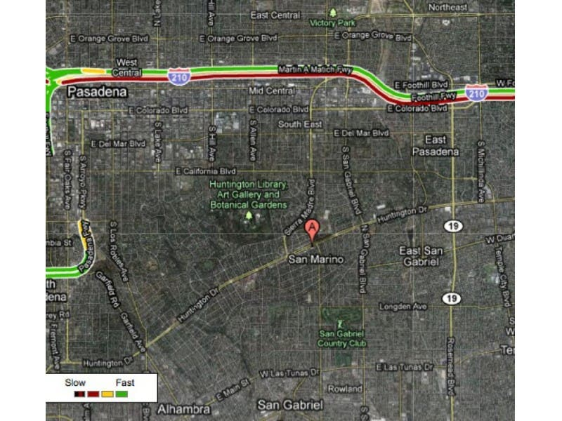 Knx 1070 Traffic Map.San Marino Evades The Traffic Monster San Marino Ca Patch