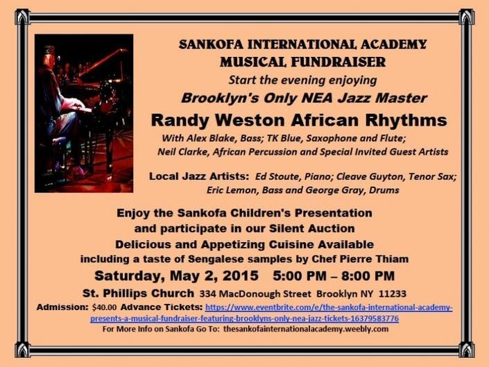 Sankofa International Academy Fundraiser with NEA Jazz