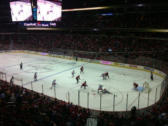 14e626695fe Capitals Shut Out Penguins in Winter Classic Rematch | Arlington, VA ...