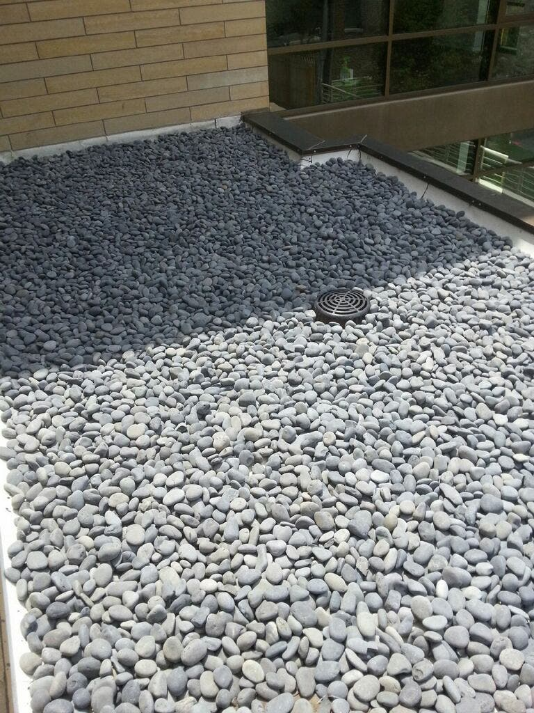 River Rock Decorative Stone For Your Roof Glenview Il Patch