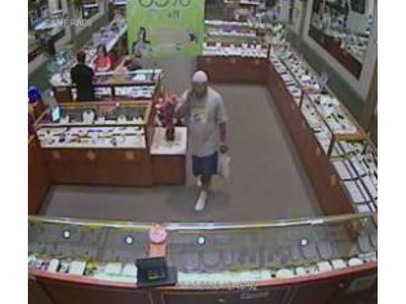 ... Police Seek Man in Jewelry Store Theft-0 ...