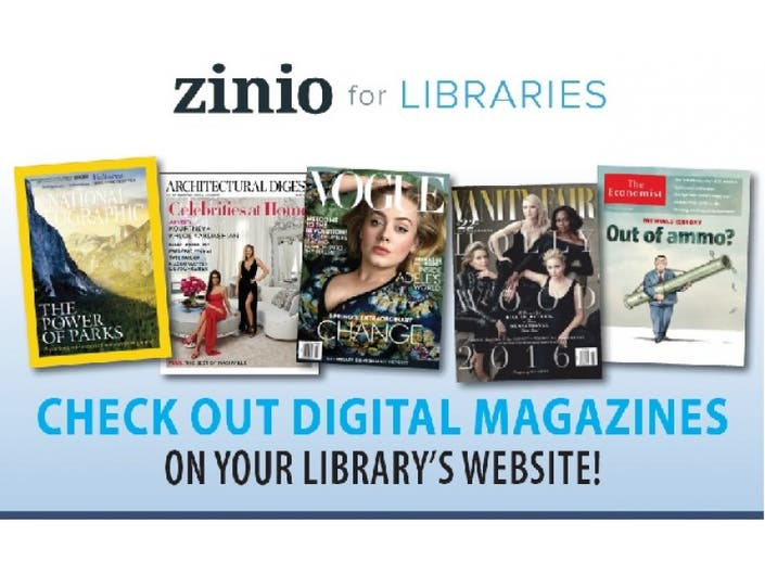 Access Magazines from Anywhere with Zinio! | New Providence