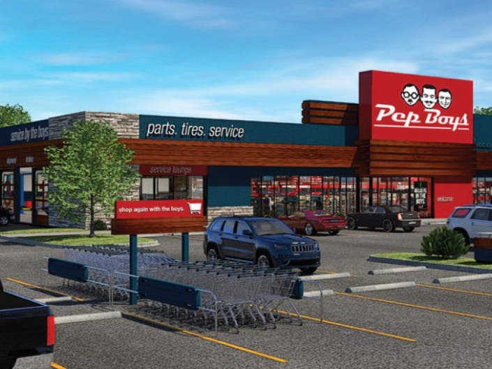 Pep Boys Store Hours >> Grand Opening Celebration Of Pep Boys First Redesigned Store In The