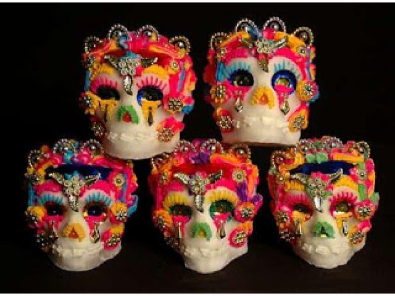 free family fun day dia de los muertos sugar skull decoration