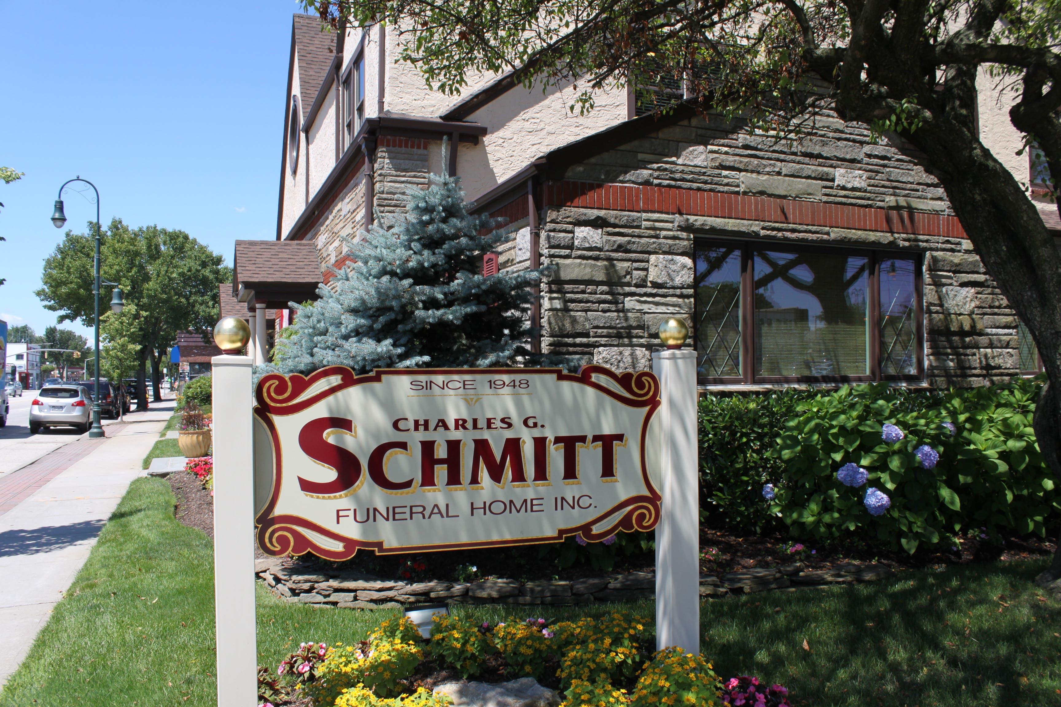 charles g schmitt funeral home