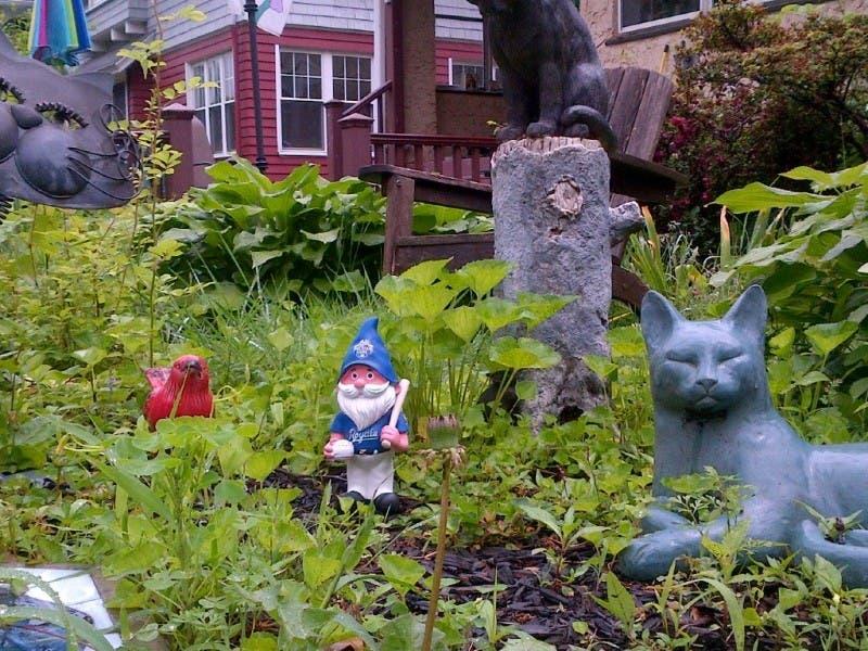 Case Of The Missing Garden Sculptures