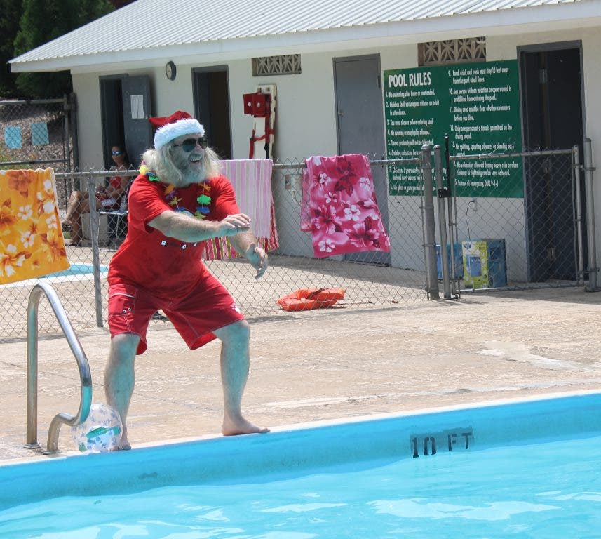 Christmas In July Swimsuit.Christmas In July Pool Party At Lay Park Athens Ga Patch