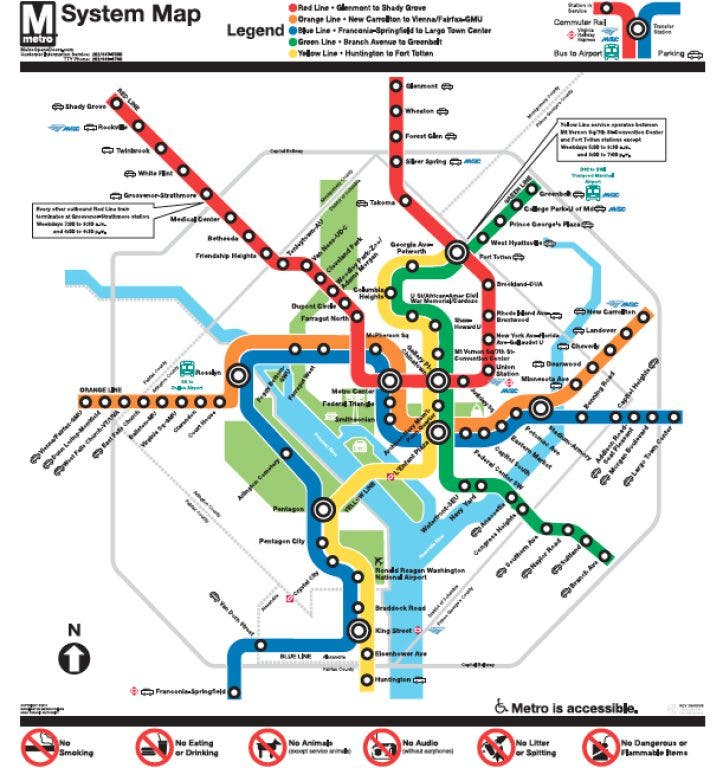 Six Red Line Metro Stations Closed This Weekend | Takoma Park, MD Patch