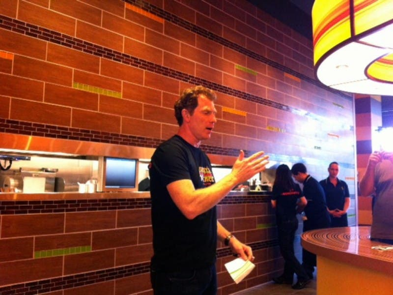 Celebrity Chef Bobby Flay Opens Restaurant At Marketfair 0