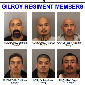 48 Gangsters Arrested — Names Released | Gilroy, CA Patch