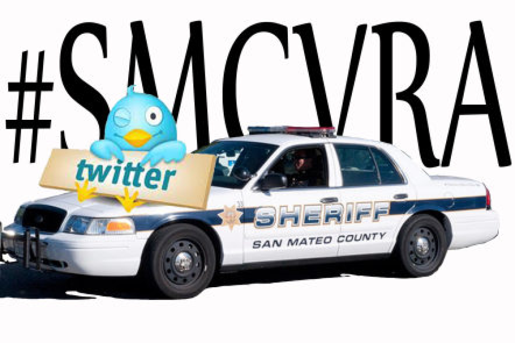 Tweet Your Way Through a Ride-Along With Sheriff's Deputies