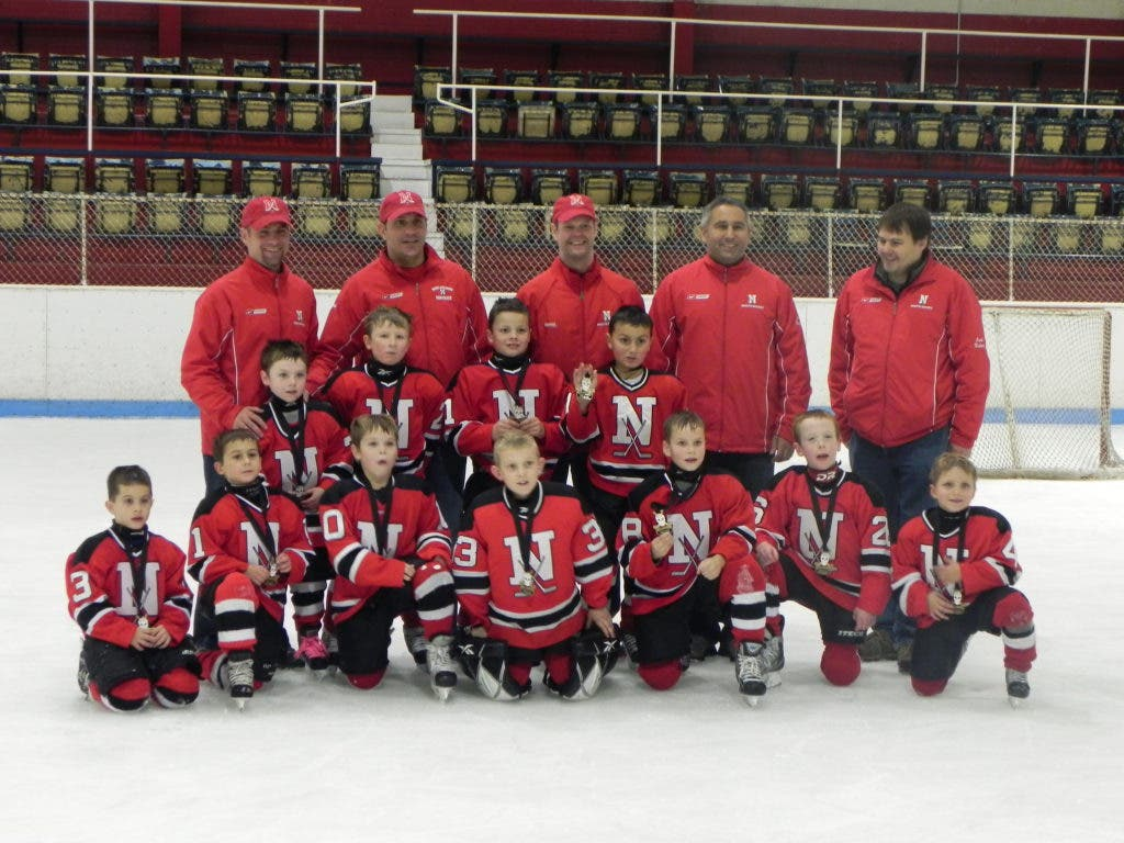 Mansfield Foxborough And North Attleboro Squirts Beat Mount Saint