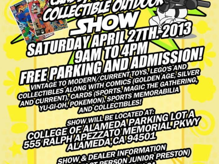 Alameda's Toy,Comics, Cards, Sports & Collectibles Outdoor Show/Swap
