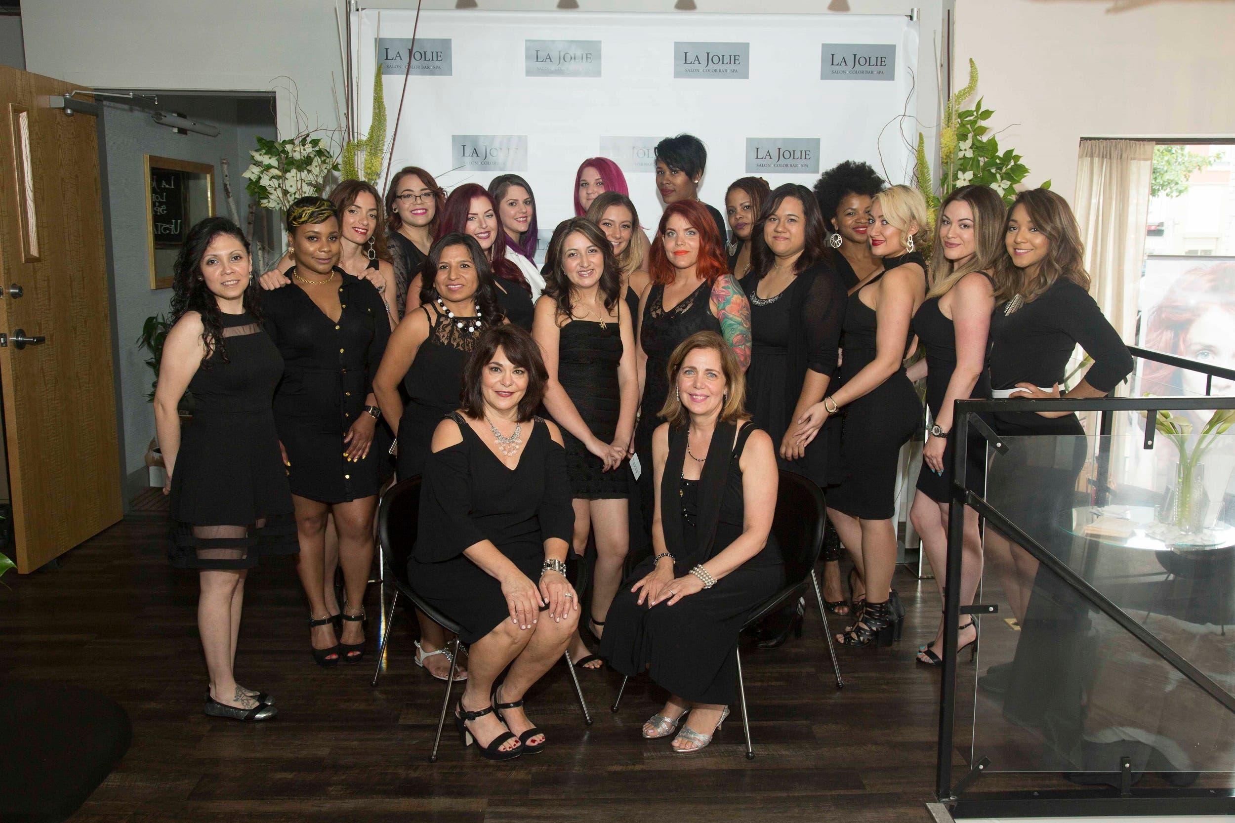 La Jolie Salon, Color Bar & Spa Celebrates Grand Re-Opening in ...