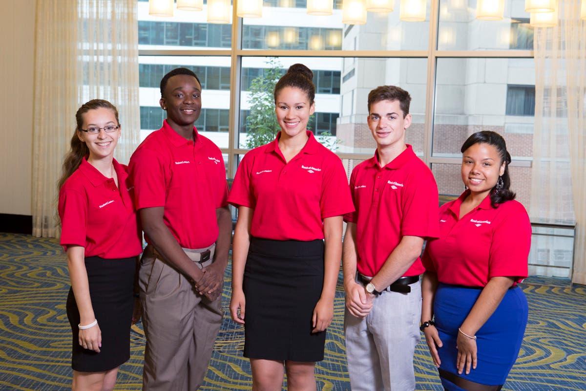 bank of america student leadership internship