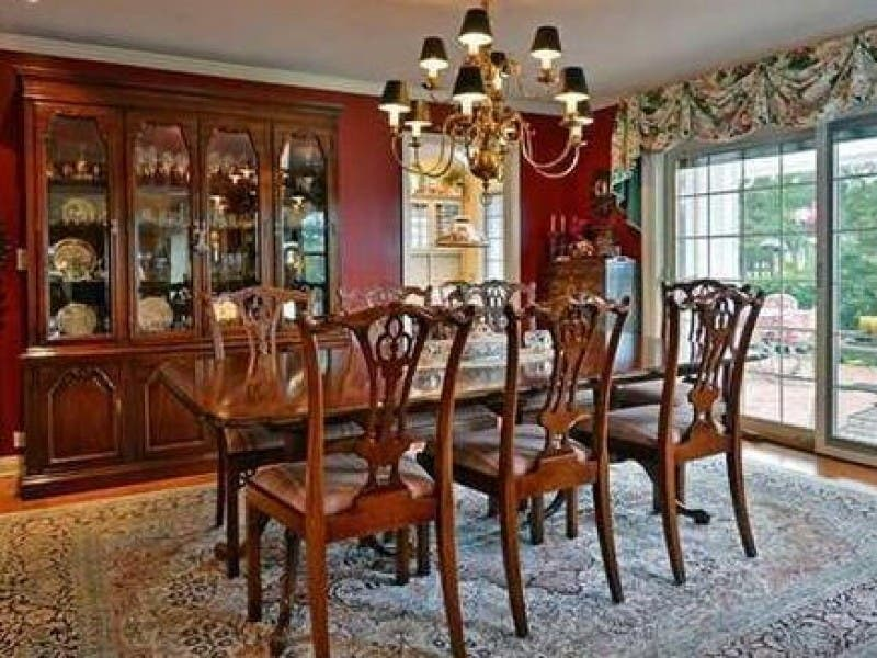 Maitland Smith Dining Set And Thomasville Server Rumson