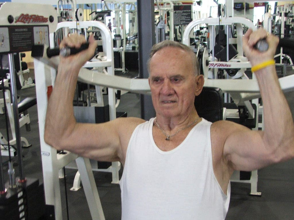 Dundalk Man, 80, Sets Bench Press Record | Dundalk, MD Patch