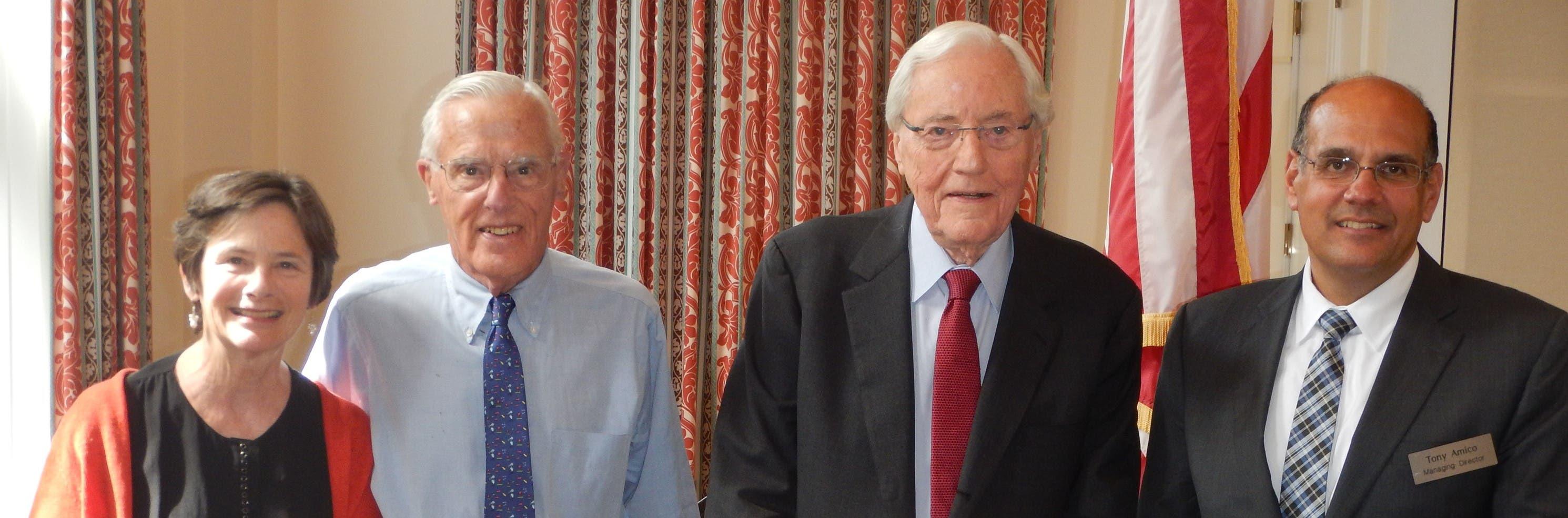 Dr  J Robert Buchanan Former CEO of MGH Revisits Fox Hill