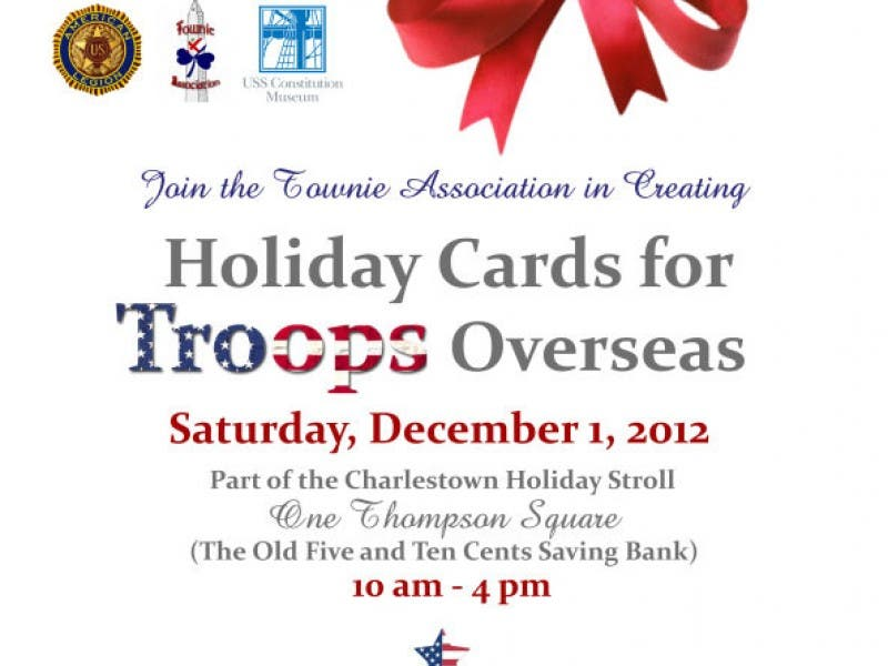 Make Christmas Cards for the Troops Overseas | Charlestown, MA Patch