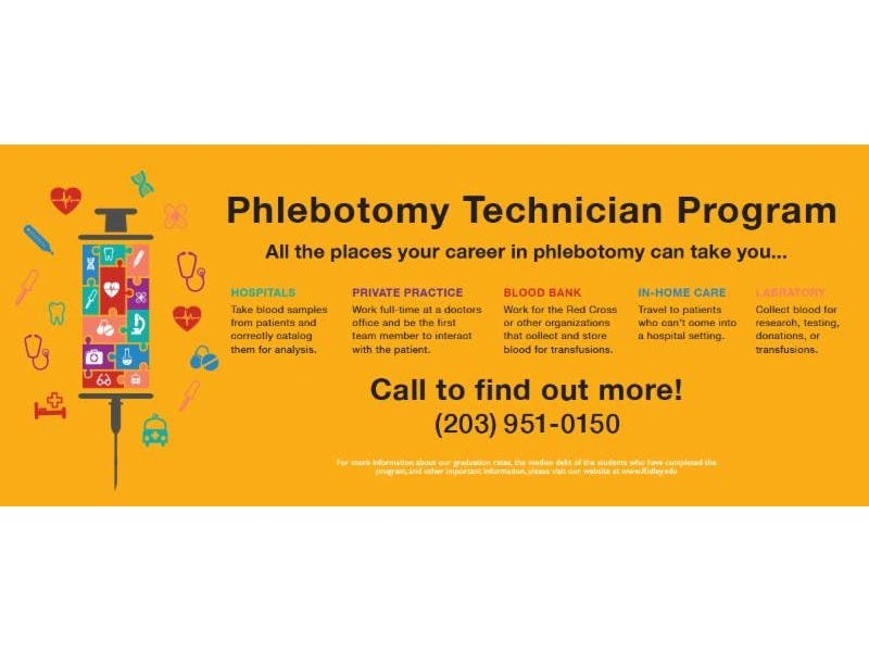 Ridley Lowell Phlebotomy Class Starts March 1 Danbury Ct Patch