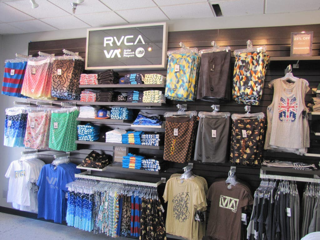 RVCA Apparel Opens At Lake Elsinore Outlets | Lake Elsinore
