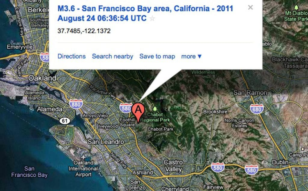 Third Quake on the Hayward Fault | Castro Valley, CA Patch