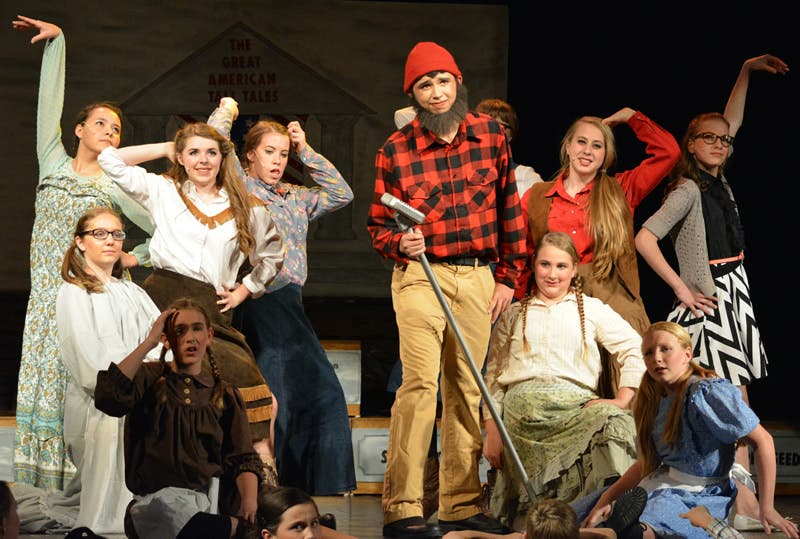 Yorkville Student to Perform as 'Paul Bunyan' in Great