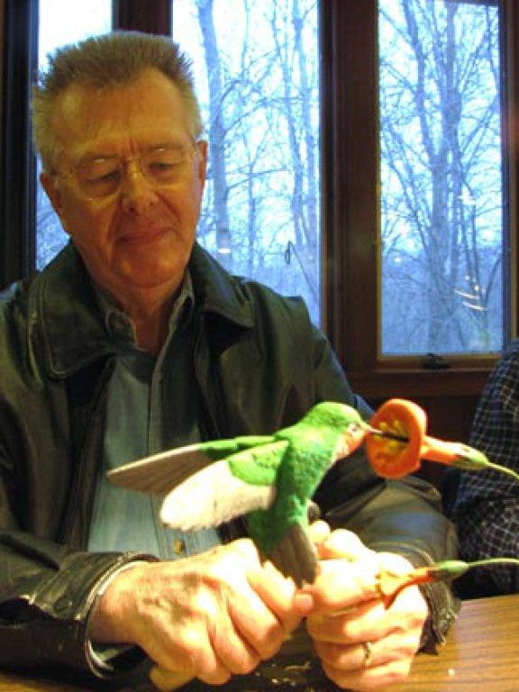 Wood Carvers Carve Their Niche at River Bend Nature Center