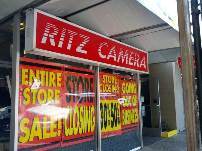 Menlo Park's Ritz Camera May Close Soon   Menlo Park, CA Patch
