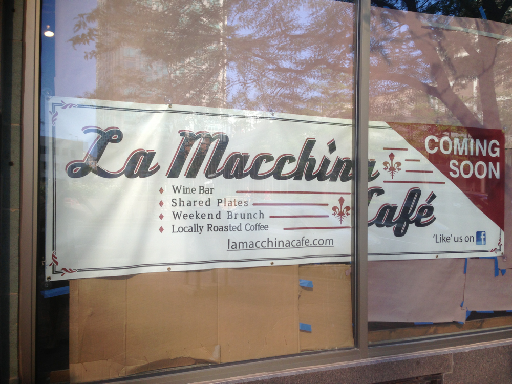 Coming Soon Downtown: La Macchina Cafe | Evanston, IL Patch