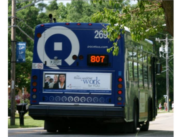 Pace Expands Bolingbrook Chicago Service Thanks To Bus On