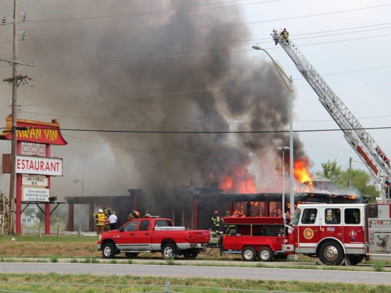 Massive Fire At Kwan Yin Destroys Wentzville Restaurant Wentzville