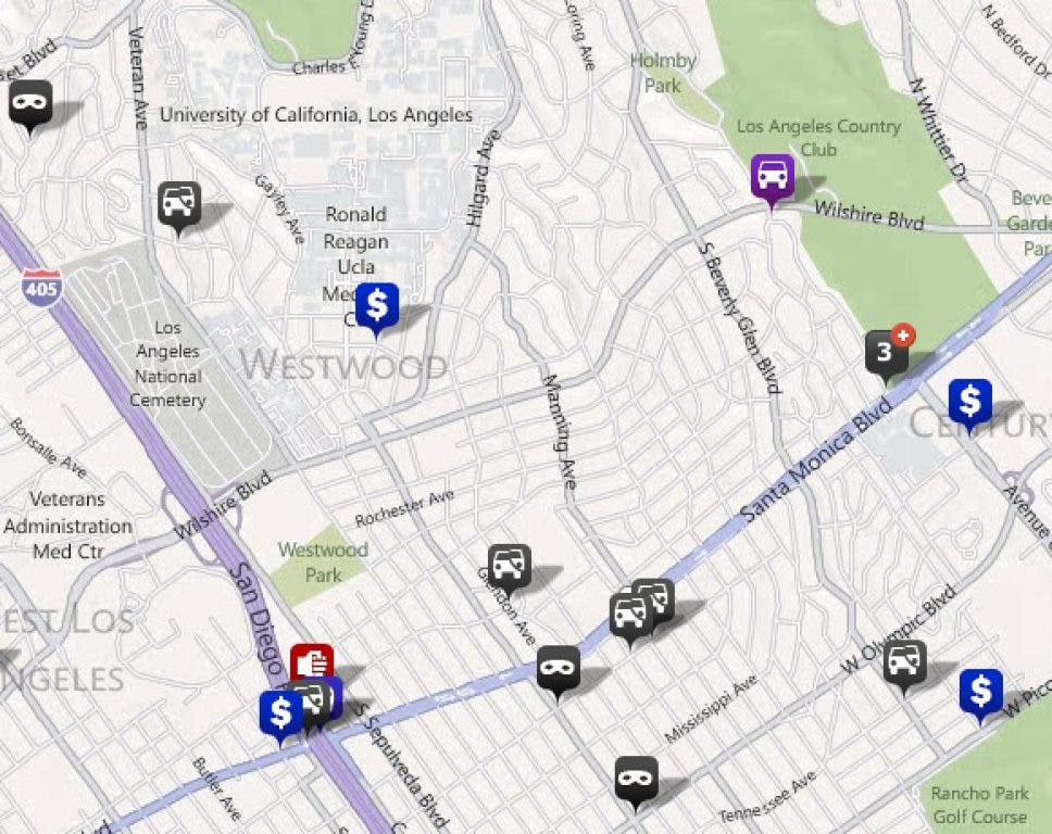 Westwood Police Blotter: Assault With Deadly Weapon