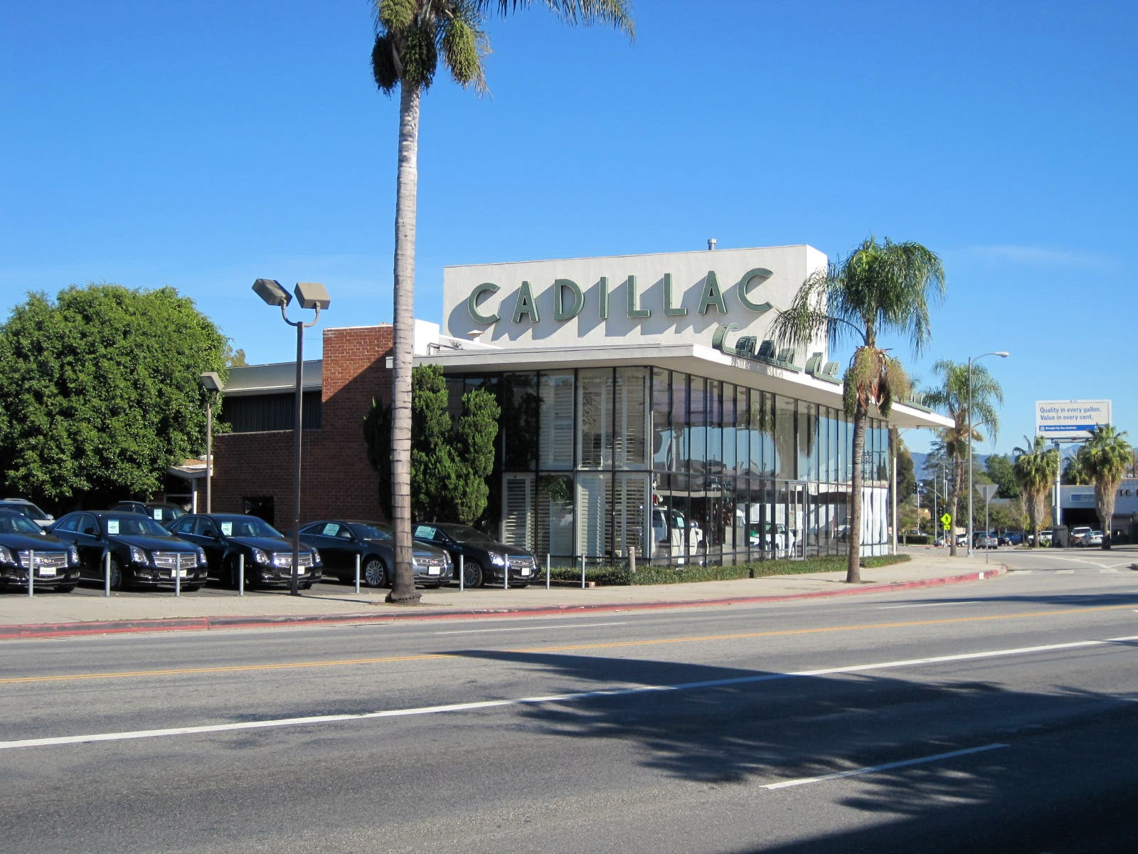 Fire Reported at Cadillac Dealership | Sherman Oaks, CA Patch