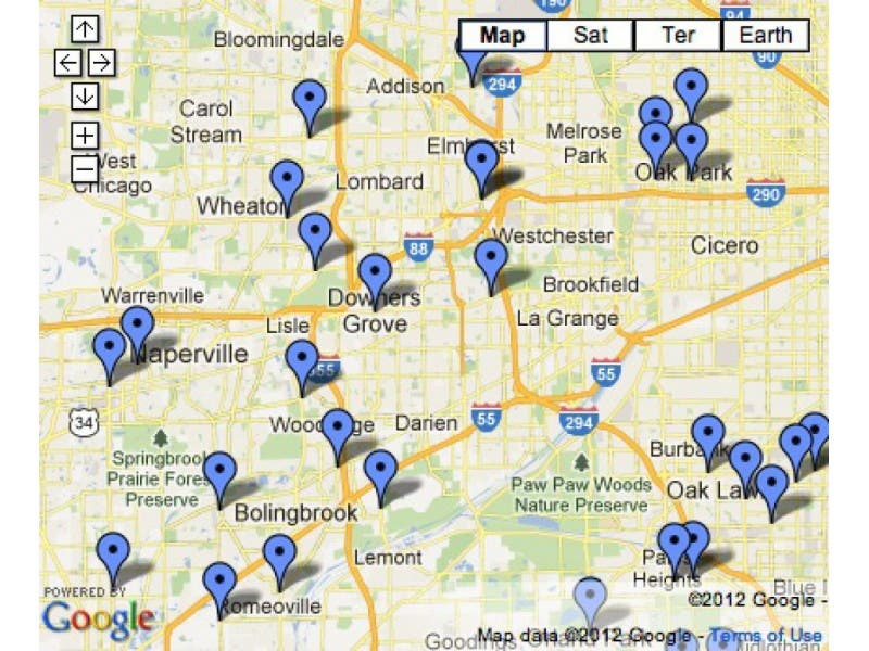 MAP: Chicago Area Gas Stations Listed for Tainted BP Gas Sales ...