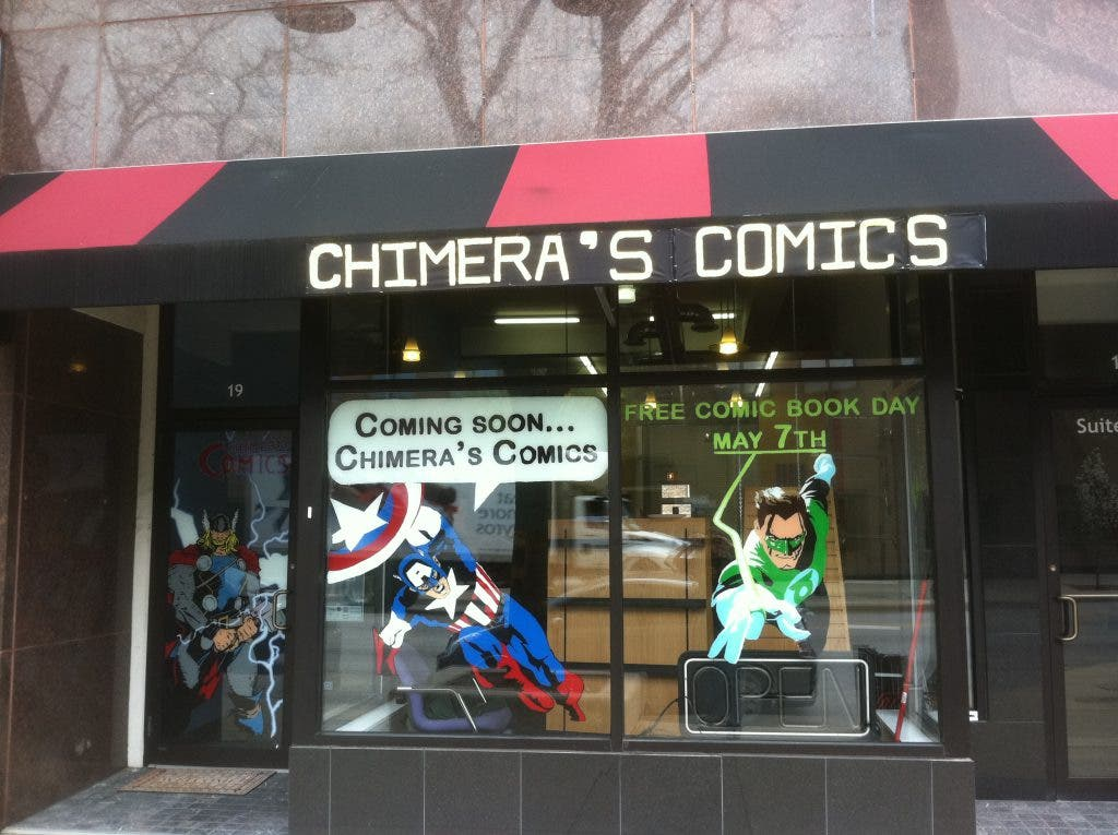 Chimera's Comics Owners Review 'Comic Book Men' on