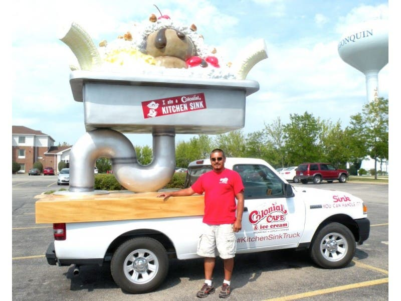 Colonial Café Truck Has Everything—and the Kitchen Sink | Geneva, IL ...