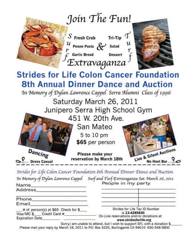 Surf And Turf Dinner Benefit For Cancer Foundation Millbrae Ca Patch