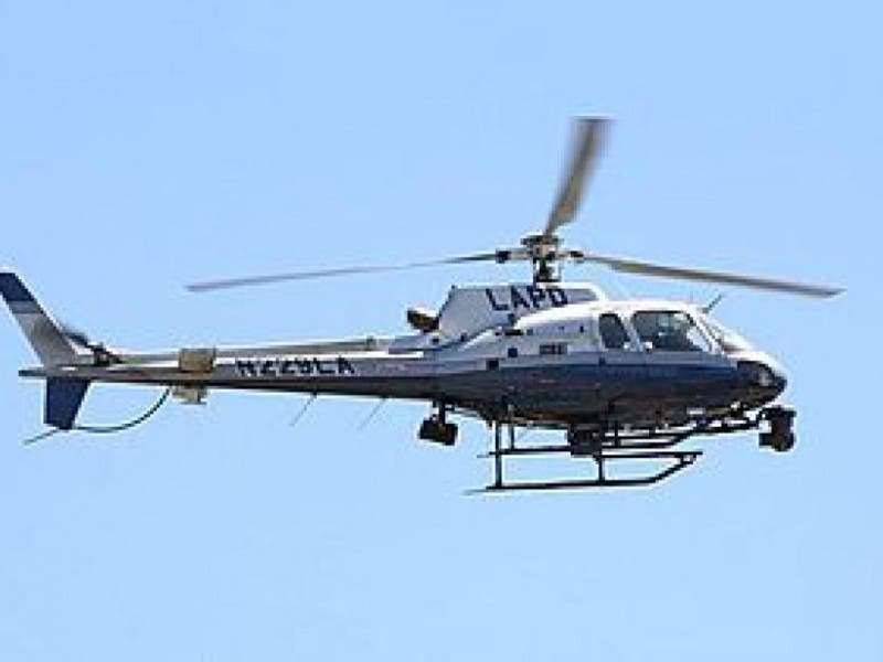Police Dispatch Helicopter Overnight To Search For Fugitive