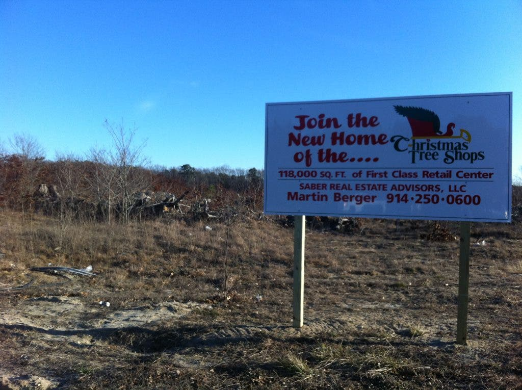 Christmas Tree Shops Penciled in for Route 58   Riverhead ...