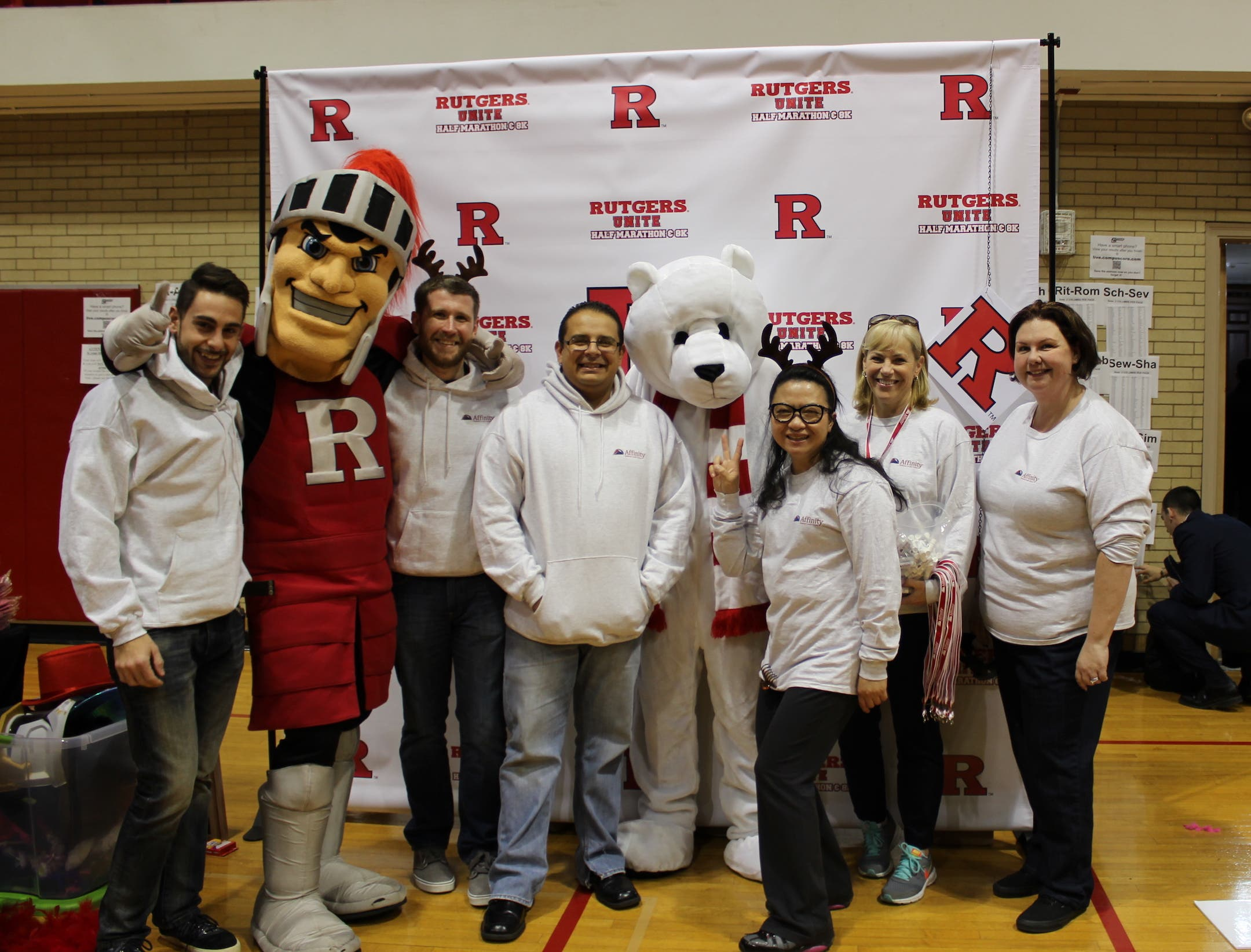 Rutgers Federal Credit Union >> Affinity Federal Credit Union Sponsors Rutgers The Big Chill 5k
