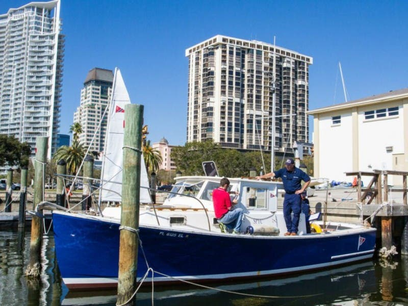 Coast Guard Auxiliary Boating Skill Course St Pete Fl Patch