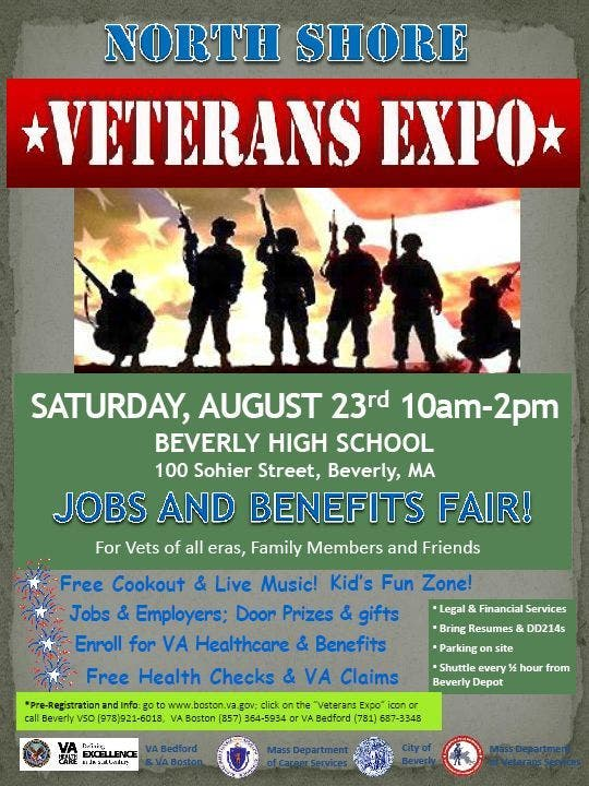 North Shore Veterans Fair to Highlight Jobs, Benefits on Saturday